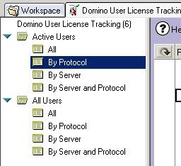standard domino user license tracking