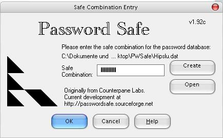 in Password Safe