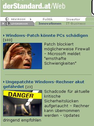 in sind windows patches nun gut oder nicht?